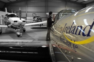 Usher Aviation based at Sligo Airport